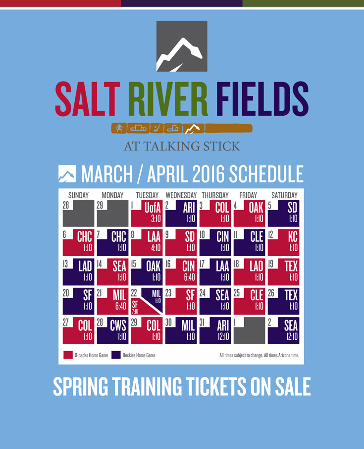 Spring Training Information