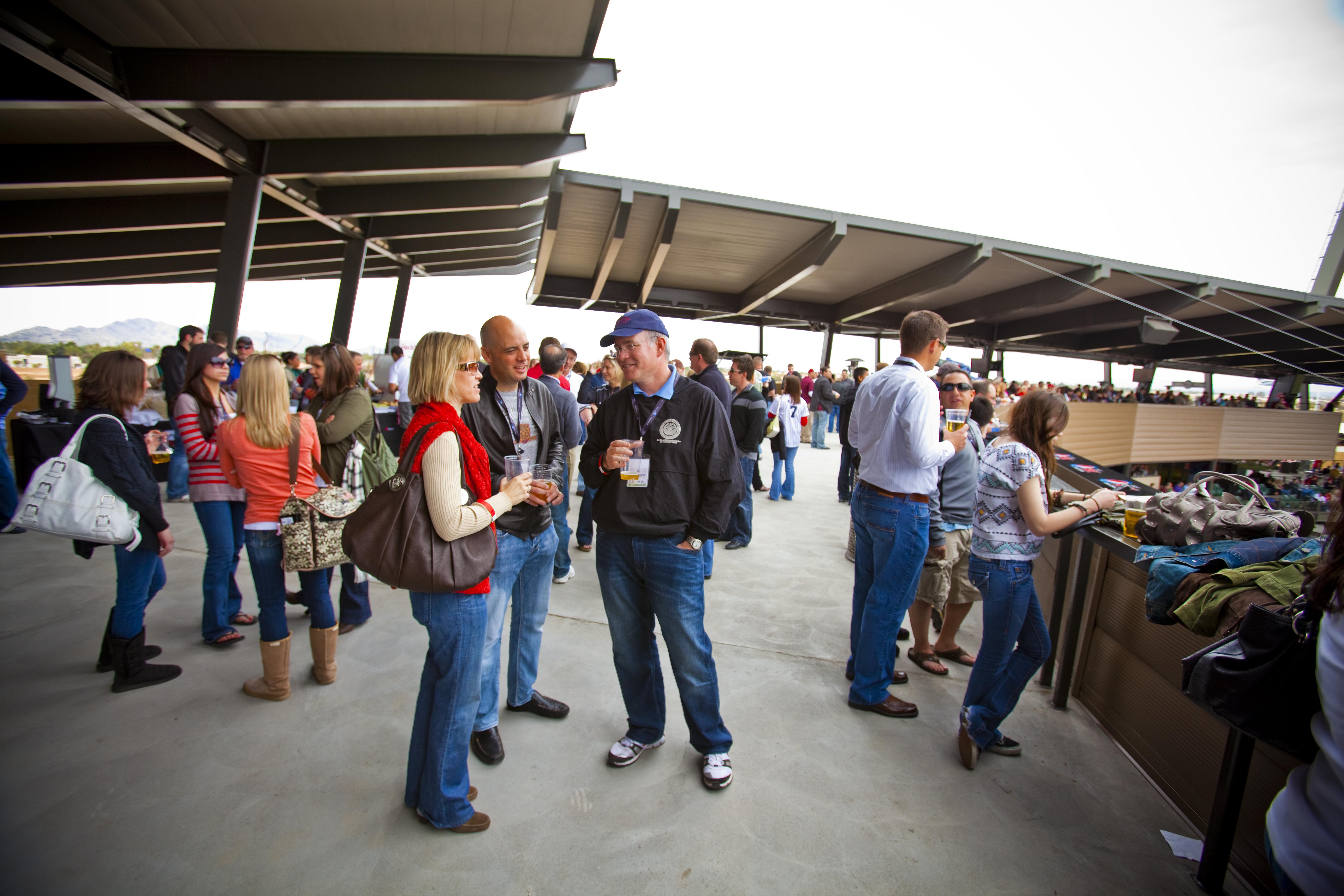 Spring Training Colorado Rockies v Arizona Diamondbacks, Salt River Fields Opening Day